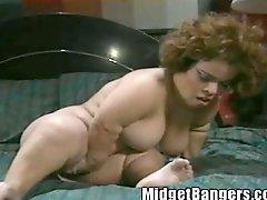 Midget Cybersex Fantasy Becomes Reality