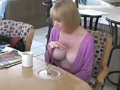 Russian mature mom and boy